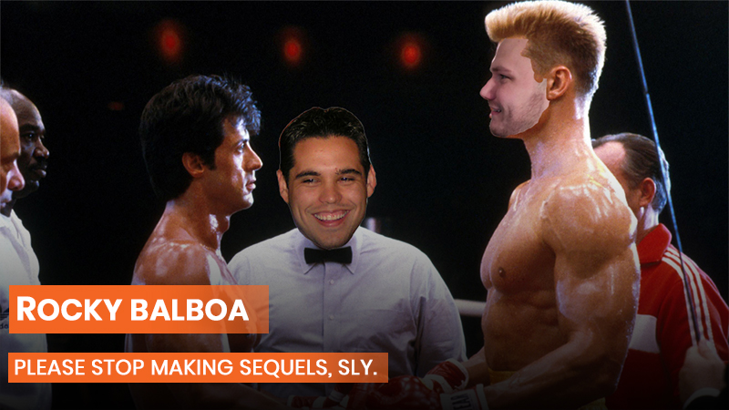 Rocky Balboa sucked.